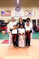 Black Belt Test May 2017